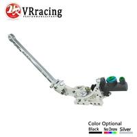 VR RACING Universal Jdm Hydraulic Horizontal Rally Drifting E Brake Lever HandBrake Default Color SILVER VR3633S