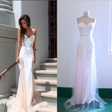 Fuerjia 2018 new women s dress dress lace stitching backless bride clothing wholesale