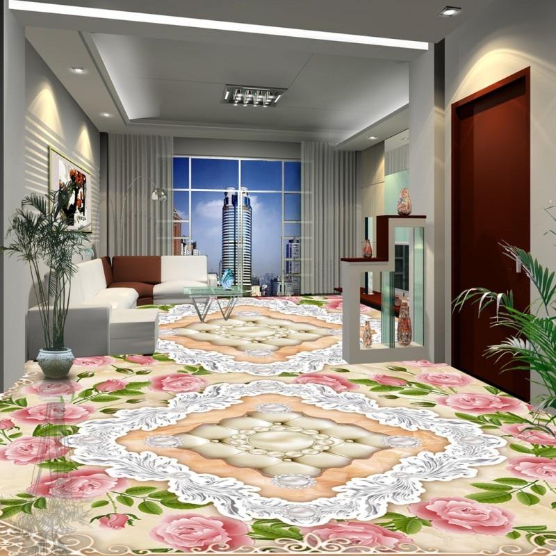 Jade Kitchen: Free Shipping European Style Stone Pattern Jade Flooring
