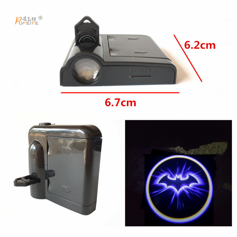 2pcs Car Door Welcome Light Laser Car Door Shadow Led Projector Logo for toyota passat for kia opel Wireless Universal sticker jurus led car door logo interior light ghost shadow welcome light laset wireless projector for toyota for vw for ford hot sale page 4