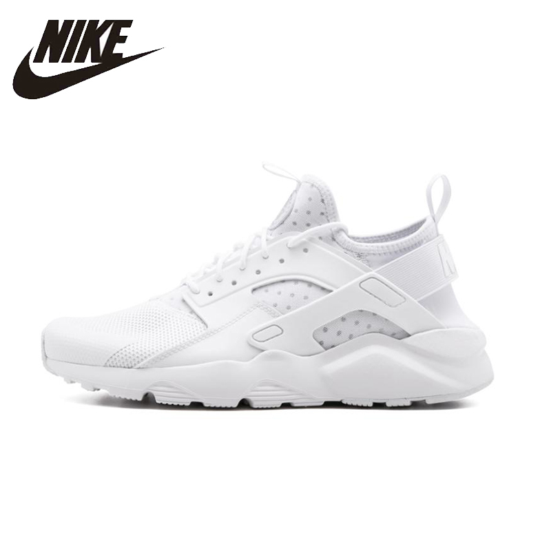 NIKE AIR HUARACHE RUN ULTRA White Mens Running Shoes Breathable Stability Support Sports Sneakers For Men Shoes#819685-101