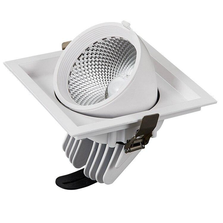360 degree rotation Adjustable Pit mounted COB LED Downlight Warm white Cold White 30W 40W COB LED Down Light Indoor light levett caesar prostate massager for 360 degree rotation g spot