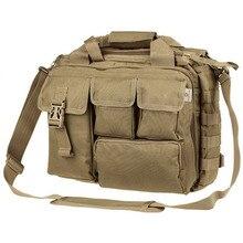 """Pro-многофункциональная Мужская Военная нейлоновая сумка через плечо, сумки, портфель, достаточно большой для 1"""" La"""