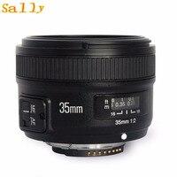 YONGNUO YN35mm F2.0 F2N Wide angle AF/MF Fixed Focus Lens for Nikon F Mount D7100 D3200 D3300 D3100 D5100 D90 DSLR Camera 35mm