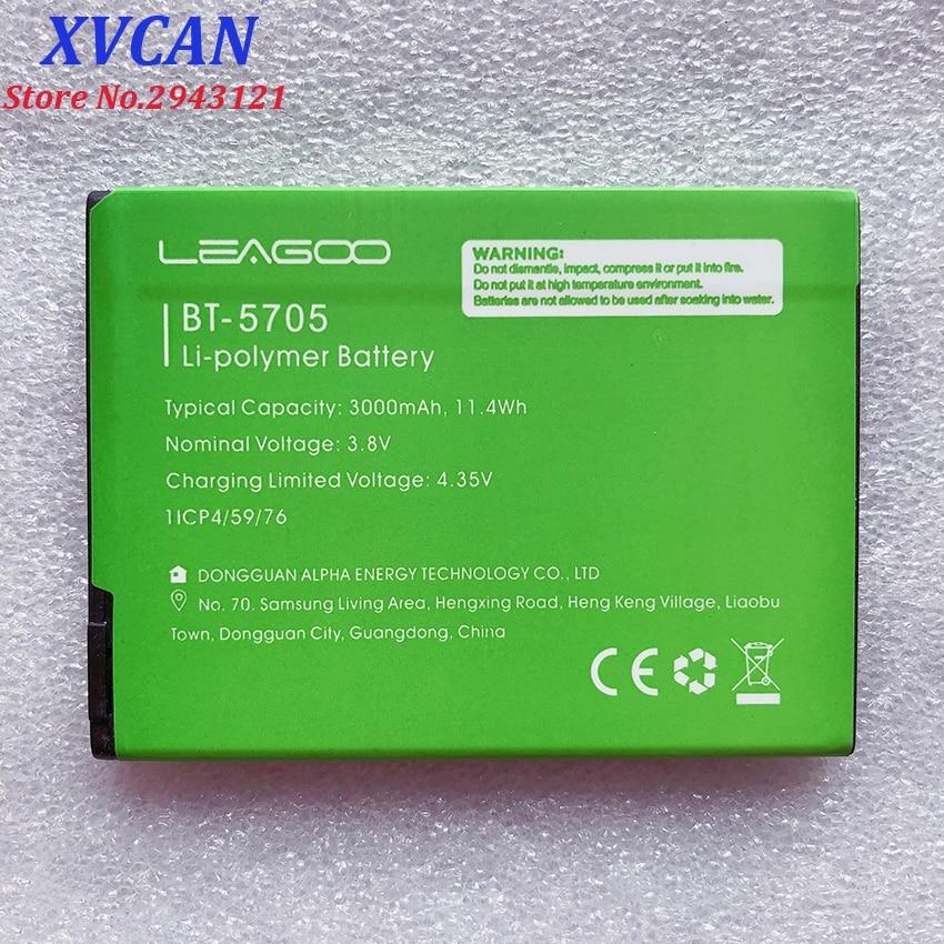 100% New BT-5705 3000mAh Battery For LEAGOO M9 Pro M9Pro BT5705 BT-5705  Mobile Phone Smart Parts Bateria Batterie  In Stock