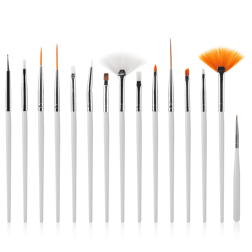 Painting Tinting Brushes Tools for Plasticine Paint Brushes Polymer Clay & Pottery Modeling Sculpture Tool Nail Art Brushes(China)