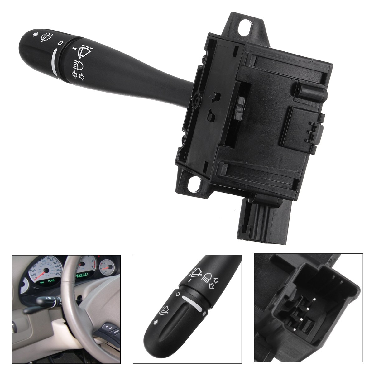 Steering Column Turn Signal Headlamp Switch Wiper Blade Unit For Dodge Grand Caravan Chrysler Voyager Town Country 2001 2002 fuel pump module assembly for 1996 2000 chrysler voyager town country dodge caravan plymouth voyager e7094m ty 122a