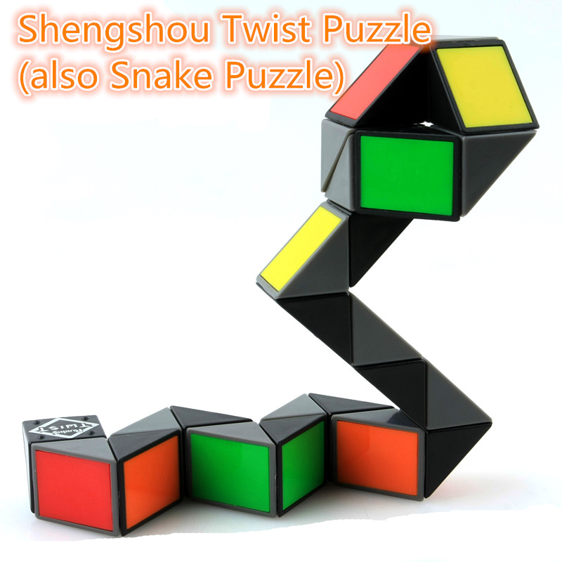 Systematic Shengshou Twist Puzzle 6 Colors Choice Learning&educational Cubo Magico Toys To Win A High Admiration also Snake Puzzle