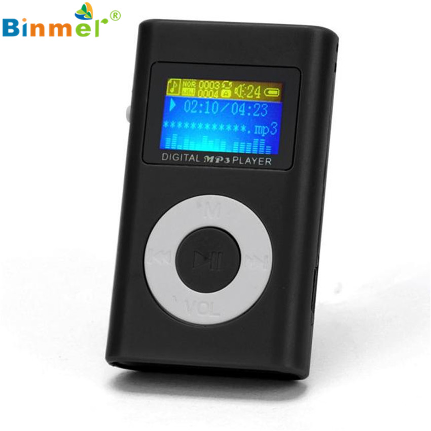 2017 usb mini mp3 player lcd screen support 32gb micro sd. Black Bedroom Furniture Sets. Home Design Ideas