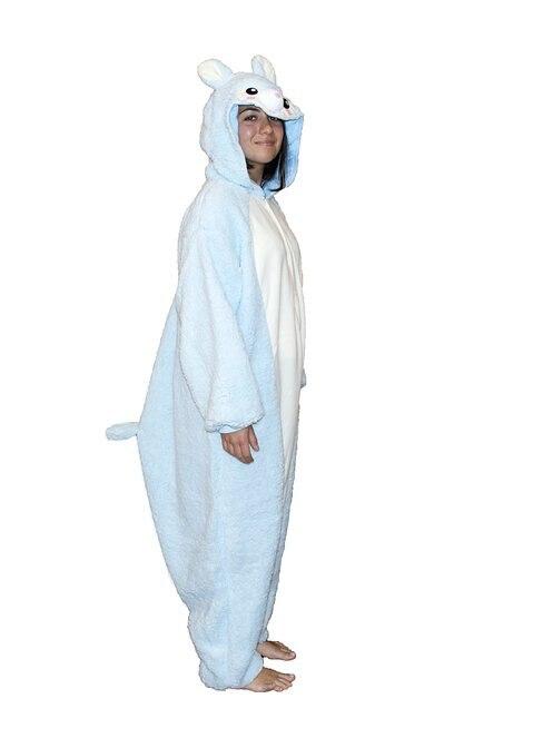 ultimo stile Guantity limitata selezionare per lo spazio Animal costume cosplay adulto pigiama jp alpaca animale ...