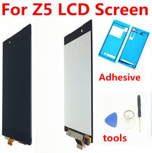 For Sony Xperia Z5 LCD E6603 E6633 E6653 E6683 Display Touch Screen Digitizer Assembly Display For Sony Z5 Replacement E6603 LCD(China)