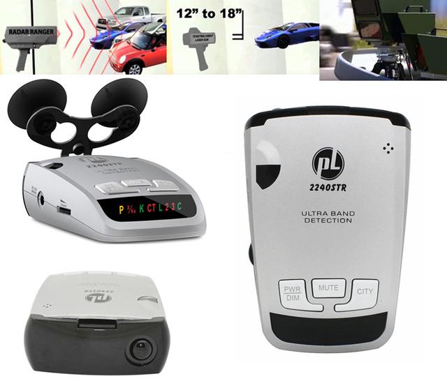 -Car detector 2016 anti detector de radar do carro estilo do carro detecção banda completa laser detector de radar strelka