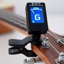 Portable Mini Clip-on Digital Tuner for Chromatic Guitar Bass Ukulele High Sensitivity Electric Tuner