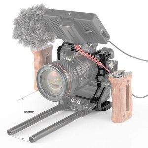 Image 5 - SmallRig DSLR Cage Fotocamera per Sony A6000/A6300/A6500 con Meike MK A6300/A6500 Fotocamera Con Battery Grip gabbia Kit  2268