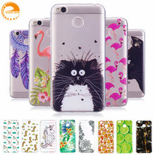 "Ellicago Xiaomi Redmi 4X Case Unicorn Soft Silicon Case For xiaomi redmi 4X Case 4 x Cover xiomi Redmi 4x Phone Cover Bag 5.0""(China)"