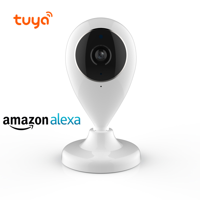 Tuya Smart Life Wireless WiFi P2P IP Security Camera Two Way Audio 64G TF Card Alarm Snapshot Amazon Alexa IP CameraTuya Smart Life Wireless WiFi P2P IP Security Camera Two Way Audio 64G TF Card Alarm Snapshot Amazon Alexa IP Camera