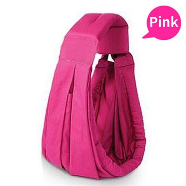 baby carrier sling backpack suspenders 8 colors newborn popular organic cotton sponge infant toddler wrap bag ecnomic kid sling