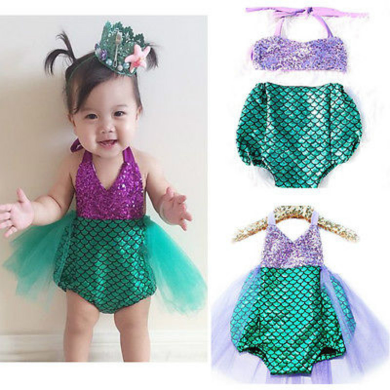 492b87c0e333 Detail Feedback Questions about Baby Girls Bikini Mermaid Kids Gilr ...