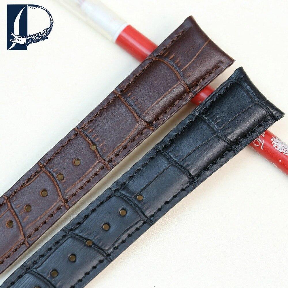 Pesno New Watchbands 20 mm Crocodile Alligator Grain Genuine Calfskin - Aksesorë për orë - Foto 6
