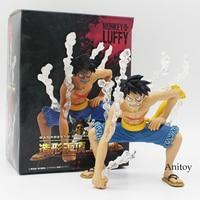 Velocidad Segunda Luffy de una Pieza Banpresto Figura Coliseo Desnuda Ver. Muñeca del mono D Luffy PVC Figura de Acción de Juguete 16 cm 2 Estilos