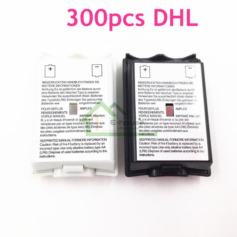 300ピースdhl送料無料バッテリーパックバックバッテリーカバーケースドア交換用xbox 360コントローラーシェルハウジング  グループ上の 家電製品 からの 交換部品 & アクセサリー の中 1