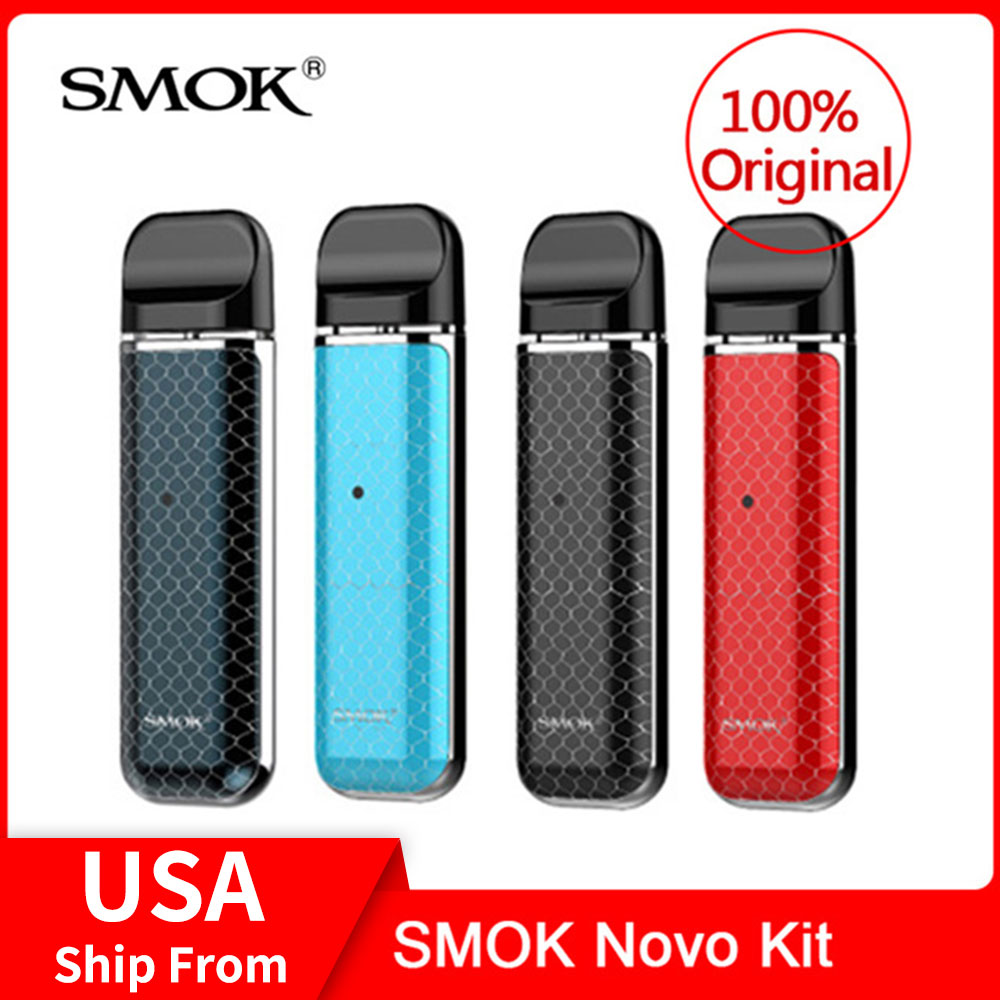 Original SMOK Novo Kit de bateria de 450mAh Para O cigarro Eletrônico caneta vape kit vs smok smok novo pod nord kit