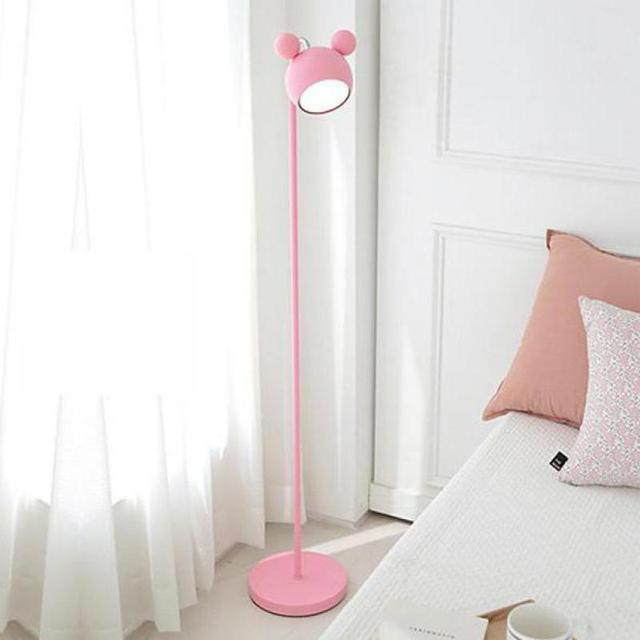 cool floor lamps kids rooms. Contemporary Cool 133cm Kid Room Pink LED Floor Lamp Korean Design Tall Standing Lamp Girl  Children Princess Study In Cool Floor Lamps Kids Rooms E