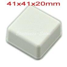Небольшой настольный Пластиковый Корпус Корпус, Белый, 41x41x20 мм, ВЫСОКОЕ КАЧЕСТВО.