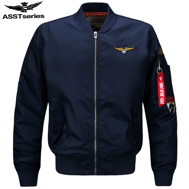 Aliexpress.com : Buy Asstseries Bomber Jacket Men Army Military ...