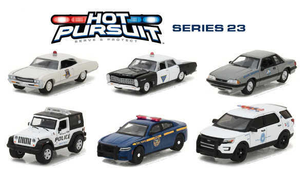 GL 1:64 Hot Pursuit Series 23 alloy model Car Diecast Metal Toys Birthday Gift For Kids Boy