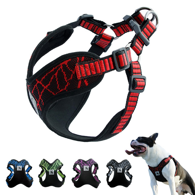 No-pull Sports Reflective Dog Harness For Medium Large Dogs