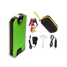 Портативный 13800 мАч Авто автомобилей Пусковые устройства Ёмкость аварийного Батарея 12 В Зарядное устройство автомобиля Стартер бустер пусковое устройство Мощность
