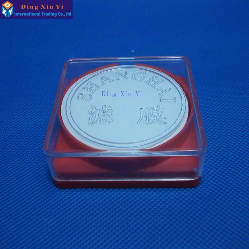 50ks / lot 0.45um nebo 0.22, 50mm PTFE membrána Millipore nylonová - Školní a vzdělávací materiály - Fotografie 2