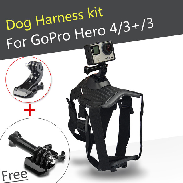 Floor Price GoPro Fetch Dog Mount Harness Chest Strap For Gopro Camera Hero 4
