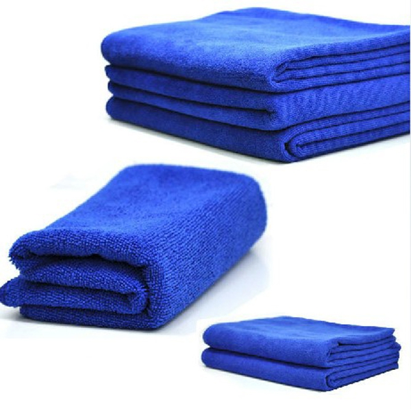 6Pcs/lot New Ultrafine Blue Microfiber Car Wash Towel For Car Motorcycle Vehicle Cleaning Washing 30X30cm Durable Soft