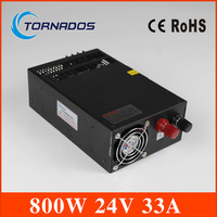 dc Power Supply 24v 800w Switching power supply 33A Indoor Led Driver 110V/220V ac dc 24v