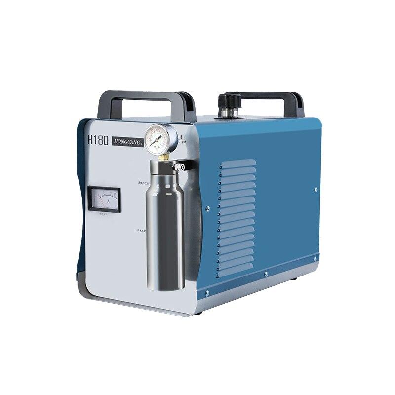 NEUE 95L H180 220 V Elektrische Sauerstoff Wasserstoff Wasser Welder Acryl Flamme Polierer Torch Polieren Maschine