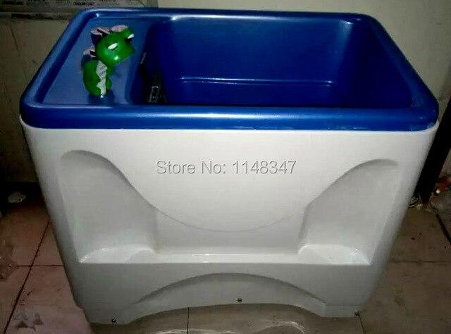 Pet spa baignoire chien chat lavage de massage piscine nano bulles