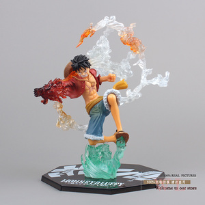 """Image 1 - Free Shipping 7"""" One Piece Monkey D Luffy Battle Ver.  Boxed PVC Action Figure Collection Model Toy Gift OPFG228"""