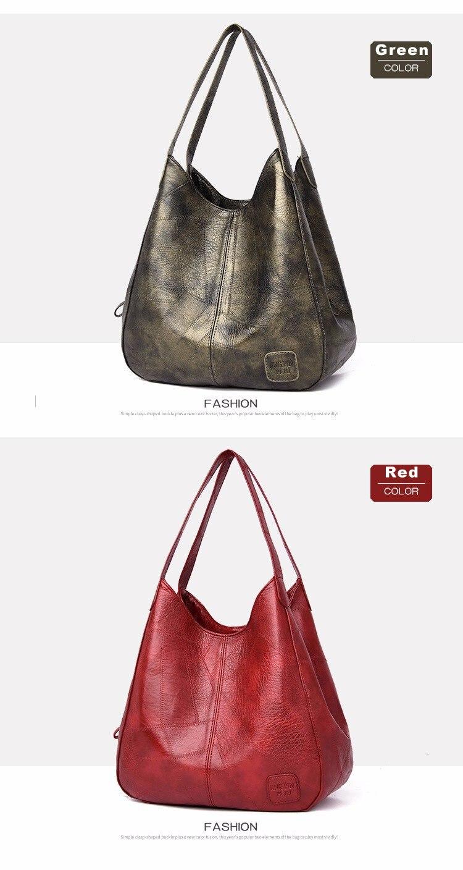 Bags Women Handbags Designer Ladies Soft Leather Bags Female Shoulder Bag Small Retro Women Tote Bag