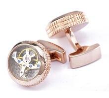 Мужские наручные часы серебристого цвета с золотым вращением
