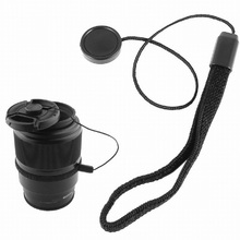 Gosear Universal DSLR Lens Cover Cap Holder Keeper Strap Cord String Leash Rope for Canon Nikon Sony SLR DSLR Digital Camera(China)