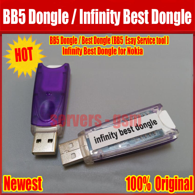 100% Original BB5 dongle servicio fácil (mejor Dongle)/infinity mejor dongle para Nokia