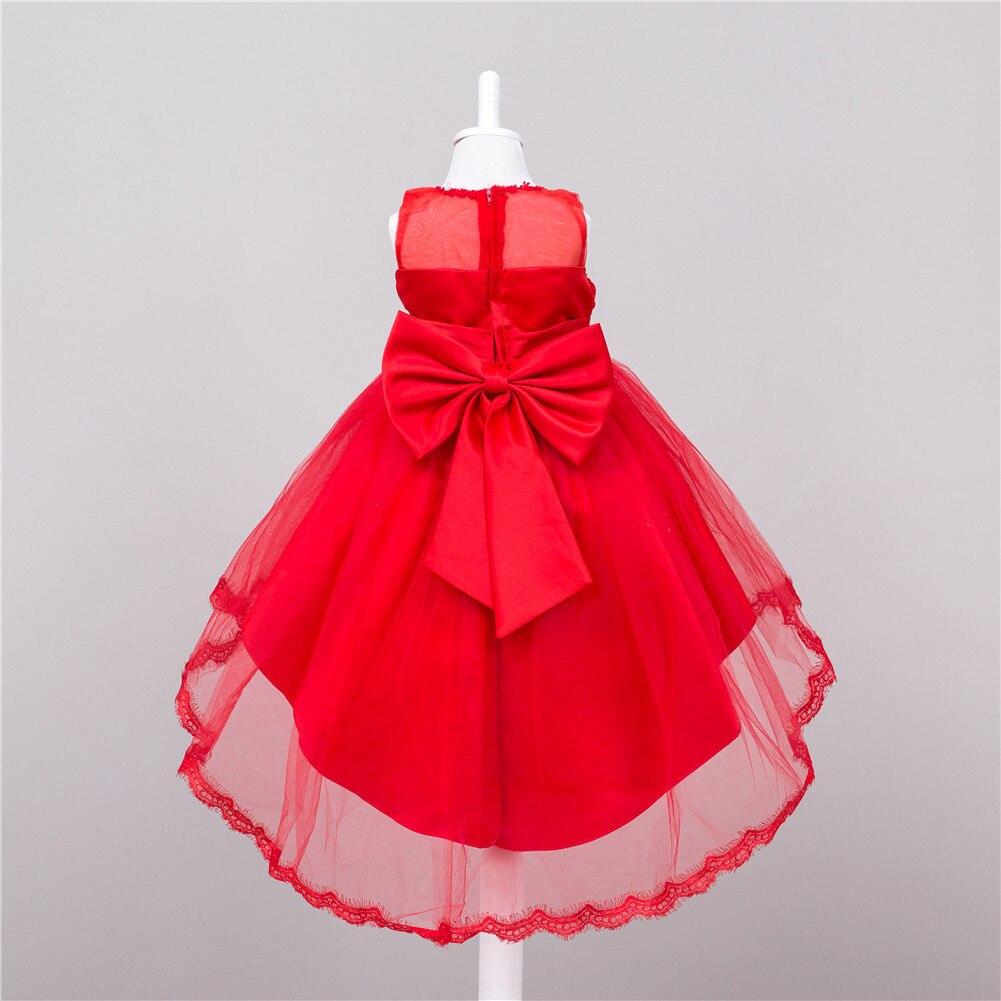 Robe De Soirée De Mariage Sans Manches Soirée Tutu Robe De Robe - Vêtements pour enfants - Photo 4