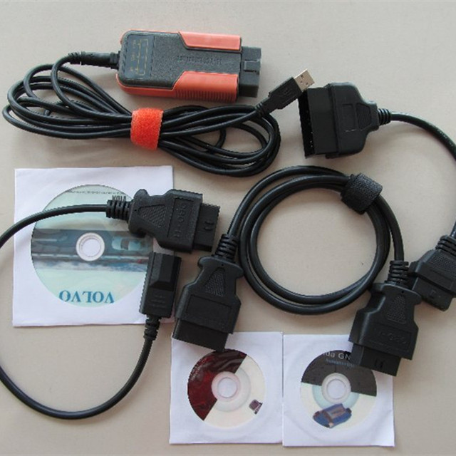 Super quality for toyota for volvo for honda mvci 3 in 1 Factory Diagnostics for TOYOTA TIS Multi-Languages Free Shipping