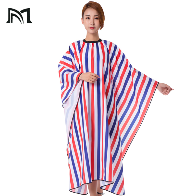 Drop-shopping Hairdresser Capes Salon Barber Cutting Hair Stripe Leisure Style Peri Cloth Waterproof Cloth Salon Barber Capes
