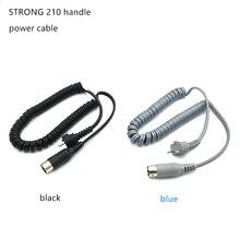 Сильный 210 102L 105 микромотор наконечник шнур питания Электрический Маникюр дрель и аксессуар используется в сильной 210 90 204 мотор инструменты