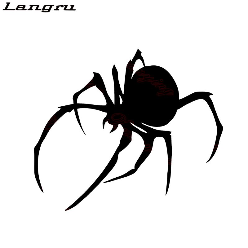 Us 1 57 55 Off Langru Trendy Stickers Car Styling Black Widow Spider Motorcycle Vinyl Decal Exterior Accessories Jdm In Car Stickers From