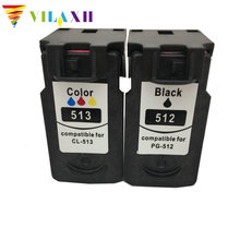For Canon PG 512 CL 513 PG512 CL513 Ink Cartridges For Canon iP2700 iP2702 MP240 MP250 MP252 MP260 MP270 MP280 MP480 MP490 use for injet printer ink cartridge pg512 cl513 for canon with iso sgs ce certificates free shipping