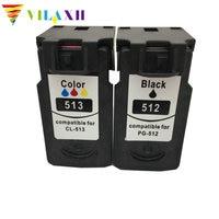 Vilaxh For Canon PG 512 CL 513 PG512 CL513 Ink Cartridges For Canon iP2700 iP2702 MP240 MP250 MP252 MP260 MP270 MP280 mx320